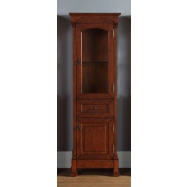 Brookfield Warm Cherry Linen Cabinet