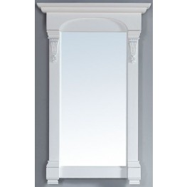 "Brookfield 26"" Cottage White Mirror"