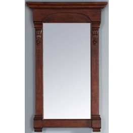 "Brookfield 26"" Warm Cherry Mirror"