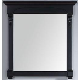 "Brookfield 39.5"" Antique Black Mirror"