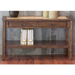 Mesa Valley Tobacco Sofa Table