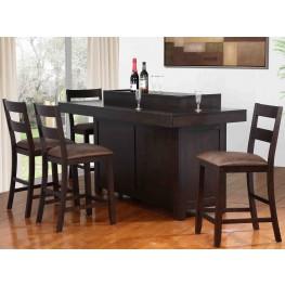 Hibatchi Jacobean Dining Bar Set