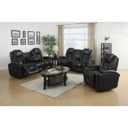 Matrix Black Power Reclining Living Room Set
