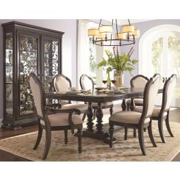 Monarch Trestle Extendable Dining Room Set