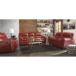 Tassler Durablend Crimson Living Room Set