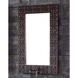 "26"" Balmoral Antique Walnut Mirror"