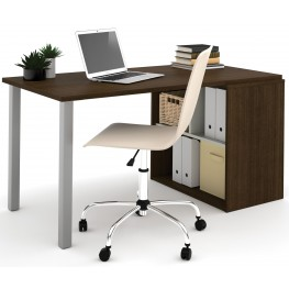 150877-78 i3 Tuxedo and Sandstone Workstation