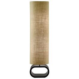 Harmony Burlap And Black Floor Lamp