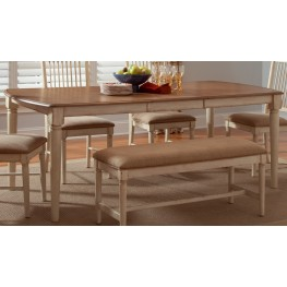 Cottage Cove Rectangular Leg Table