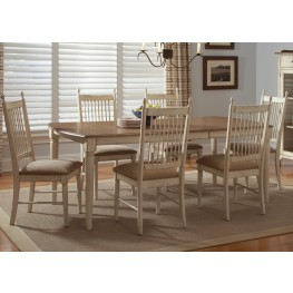 Cottage Cove Rectangular Leg Dining Room Set