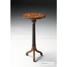 Leopard Spots Pedestal Table