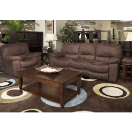 Terrance Chocolate Reclining Living Room Set