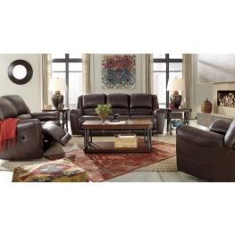 Yancy Walnut Power Reclining Living Room Set
