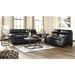 Tassler Durablend Black Living Room Set