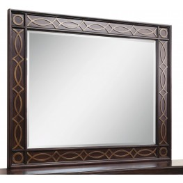 Intrigue Fretwork Mirror
