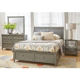 Avignon Grey Storage Bedroom Set