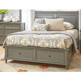 Avignon Grey Queen Storage Bed