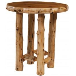"Cedar 32"" Round Standard Pub Table"
