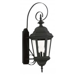 Estate Black Large Wall Lantern