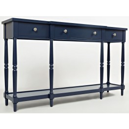 "Stately Home Navy 60"" Console"
