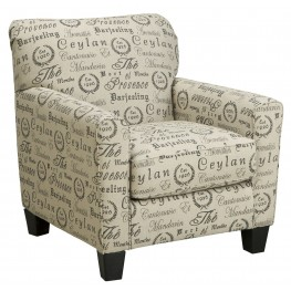 Alenya Quartz Fabric Accent Chair