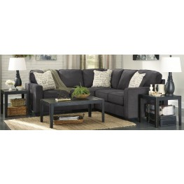 Alenya Charcoal LAF Sectional