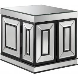 Mini Mirrored Jewelry Box