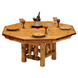 Cedar Armor Dining Table Cover for 8 Sided Poker Table