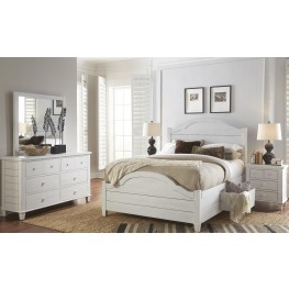 Chesapeake Distressing and Subtle Storage Bedroom Set