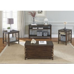 Dockside Tobacco Occasional Table Set