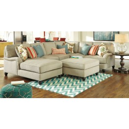 Kerridon Putty LAF Chaise Sectional