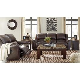 Yancy Walnut Reclining Living Room Set