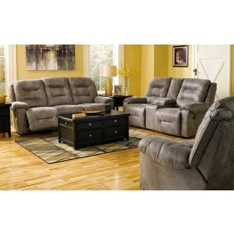 Rotation Smoke Reclining Living Room Set