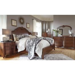 Balinder Medium Brown Sleigh Bedroom Set