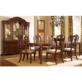 Messina Estates Rectangular Extendable Dining Room Set