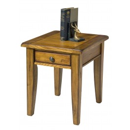 Treasures Oak End Table