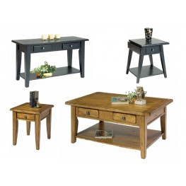 Treasures Black Occasional Table Set