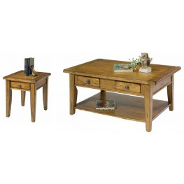 Treasures Oak Occasional Table Set