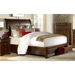 Karla Queen Sleigh Storage Bed