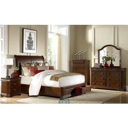 Karla Sleigh Storage Bedroom Set