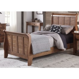 Grandpas Cabin Youth Sleigh Bedroom Set