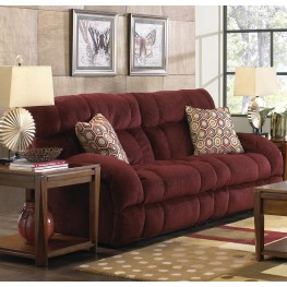 Siesta Wine Reclining Sofa