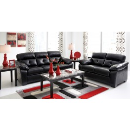 Bastrop Durablend Midnight Living Room Set