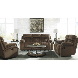 Stricklin Brown Reclining Living Room Set