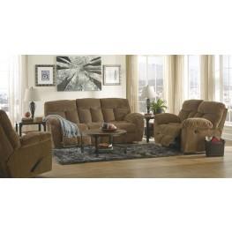 Hector Caramel Reclining Living Room Set