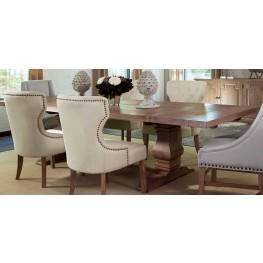 Florence Warm Natural Extendable Rectangular Dining Table