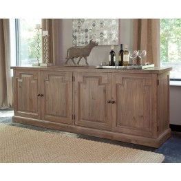 Florence Warm Natural Door Sideboard by Donny Osmond