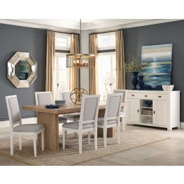 Hampshire Extendable Rectangular Dining Room Set