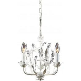 18112-3 Circeo Antique White 3 Light Chandelier