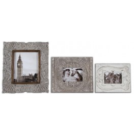 Askan Wood Photo Frames Set of 3